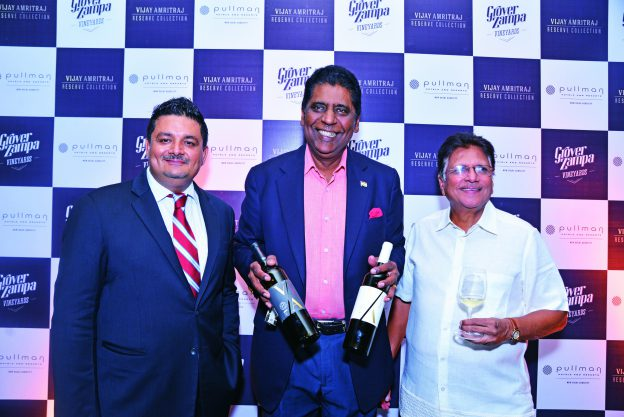 Vijay Amritraj: A patron of Grover Wines