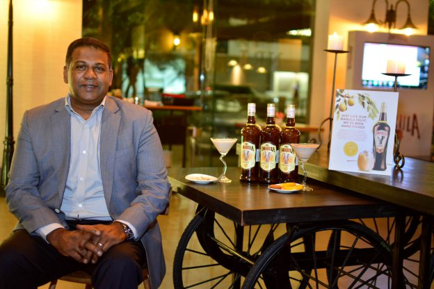 Kay Pillay, Indian by origin, born and raised in South Africa is in India for the first time to raise the profile of its brands distributed by Aspri Spirits.